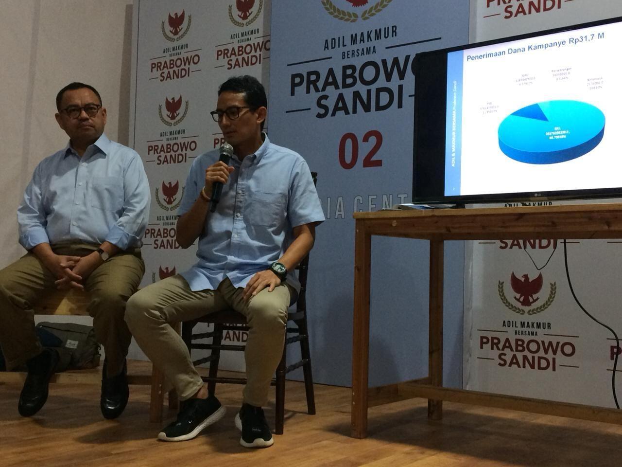 Prabowo Janji Tak Impor Kebutuhan Pangan, Sandi: Kita Harus Realistis