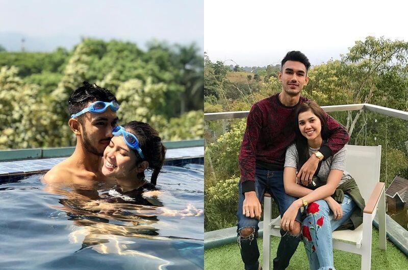 3 Bulan Menikah, Ini 10 Potret Kemesraan Raya Kitty dan Suami