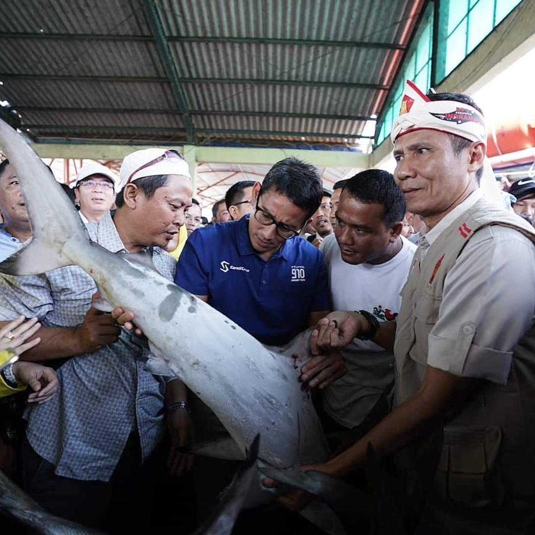 Jokowi Blusukan Lagi ke Pasar Tradisional, Begini Kata Sandiaga