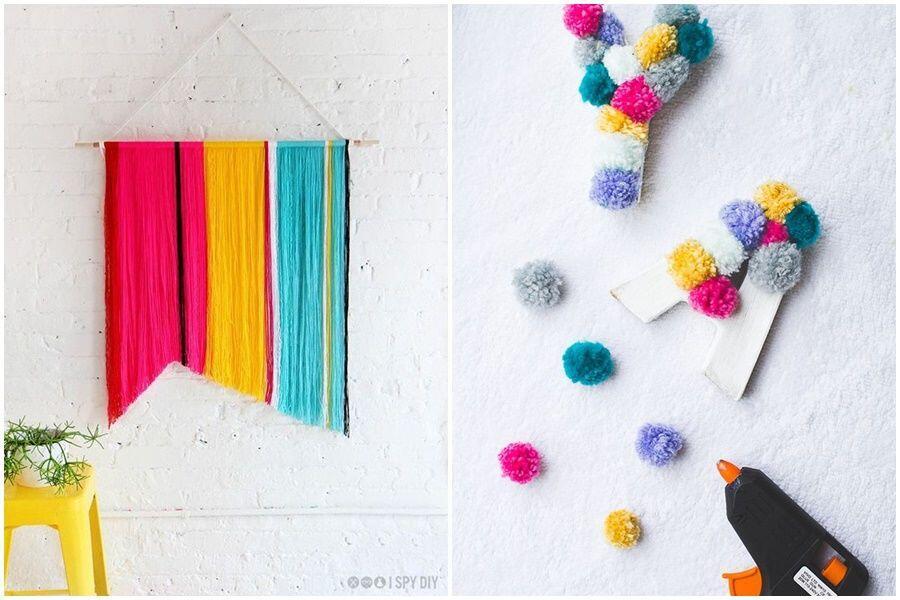 Luar Biasa Gampang, 12 DIY Cantik Ini Dibuat Hanya Bermodal Benang
