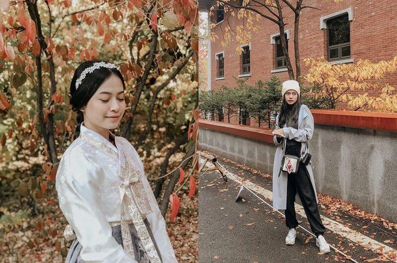 10 Potret Kece Hanggini di Korea, bak Member Girlband Nih!