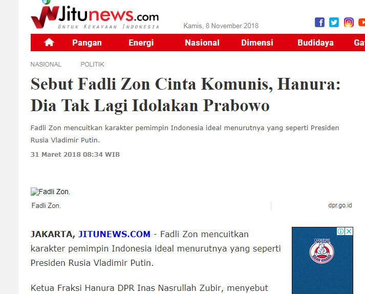 Habib Rizieq Kulineran di Turki hingga Makan Bareng Fadli Zon dan Tommy Soeharto