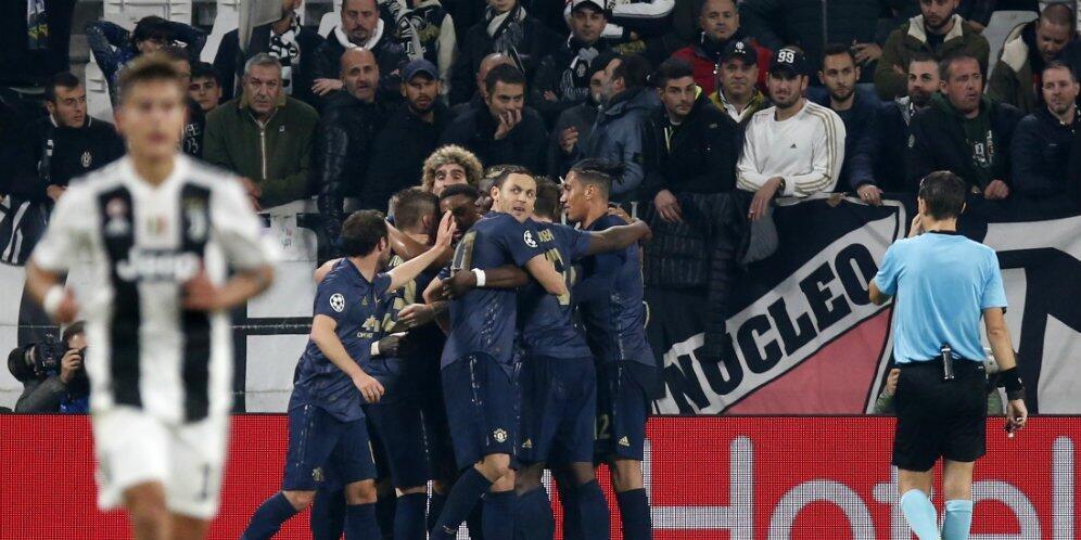 Dashyat, Manchester United Menang atas Juventus