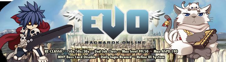 EVO Ragnarok Online | [Private Server] | RE-Classic
