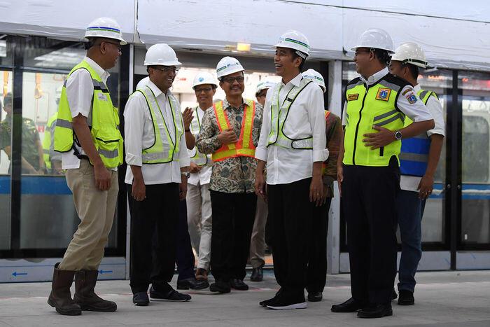 Pengerjaan MRT Fase II belum akan sampai ke Ancol