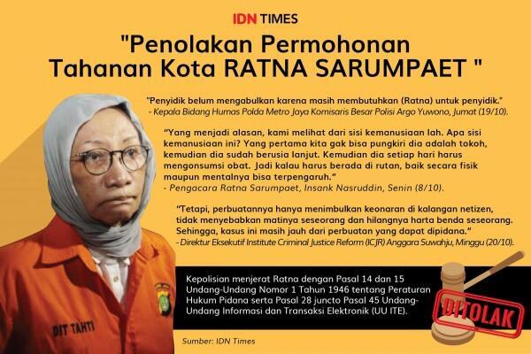 Pengacara Kecewa Berkas Ratna Sarumpaet Dilimpahkan ke Kejaksaan