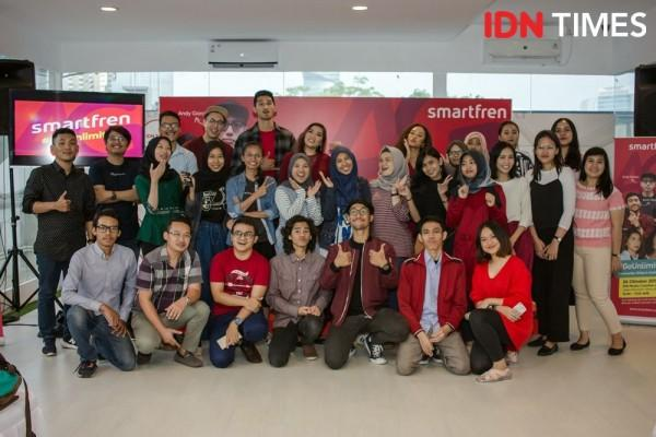 5 Influencer Bagi Ilmu Gratis di Community Gathering x SMARTFREN