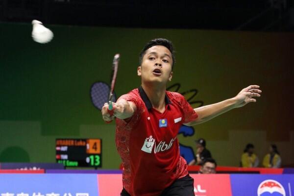 Tujuh Wakil Indonesia Lolos dari R1 Hari Kedua Fuzhou China Open 2018