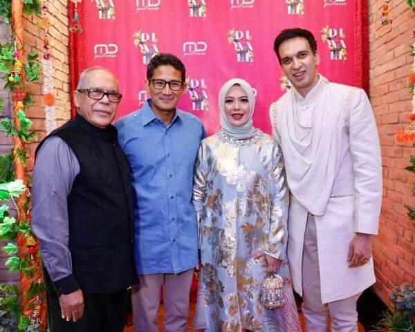 Prilly Hingga Reza Rahadian, 10 Potret Diwali Seleb Indonesia