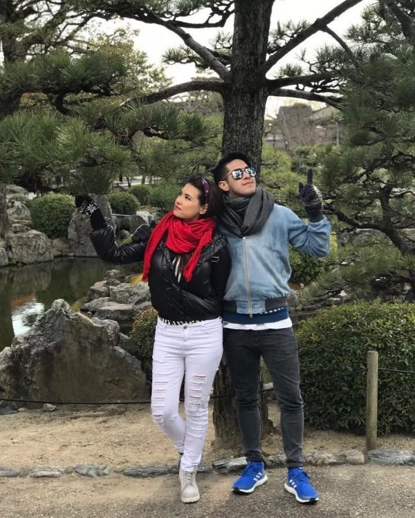 10 Momen Indah Maria Ozawa & Kekasih, Romantis Banget!