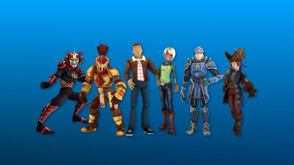 Rthro atau di panggi Anthro avatar baru game Roblox