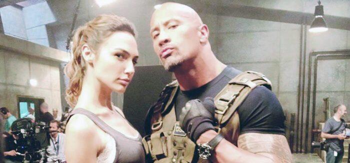 Dwayne 'The Rock' Johnson dan Gal Gadot Satu Layar