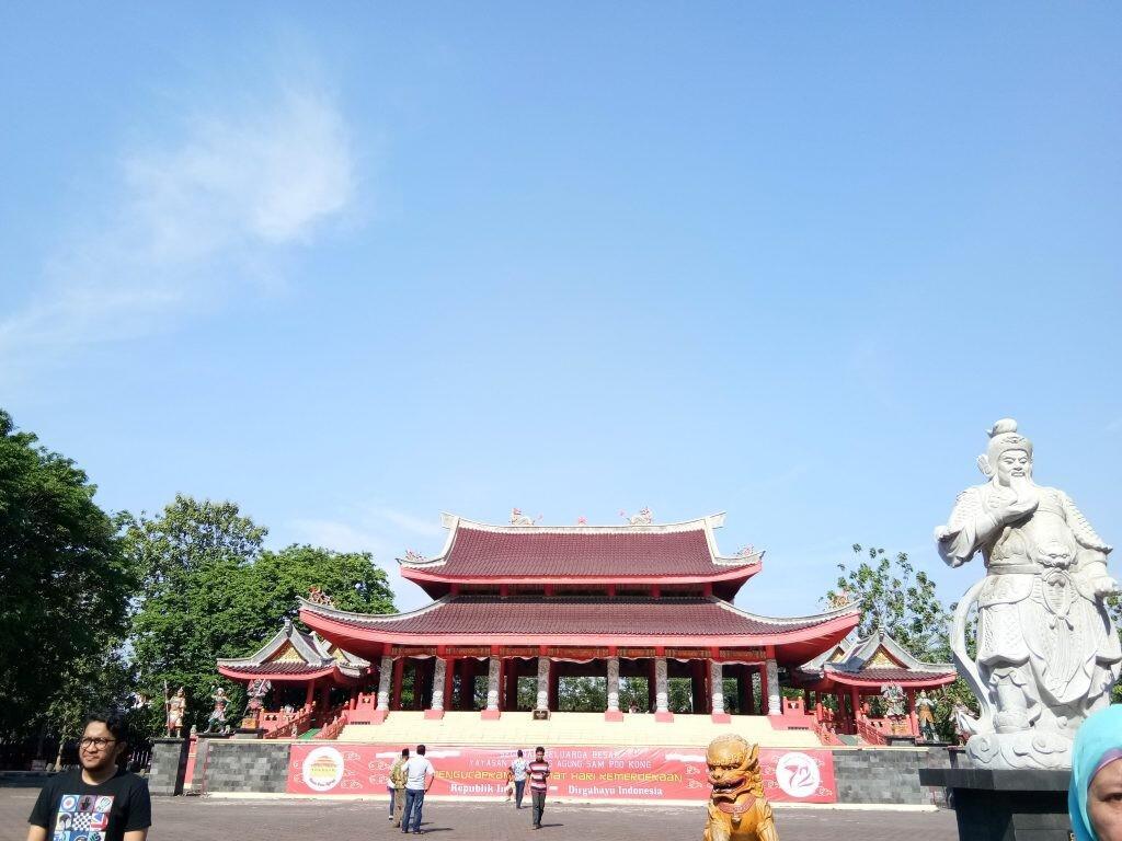 Klenteng sam poo kong, Peninggalan bersejarah Laksamana Cheng Ho