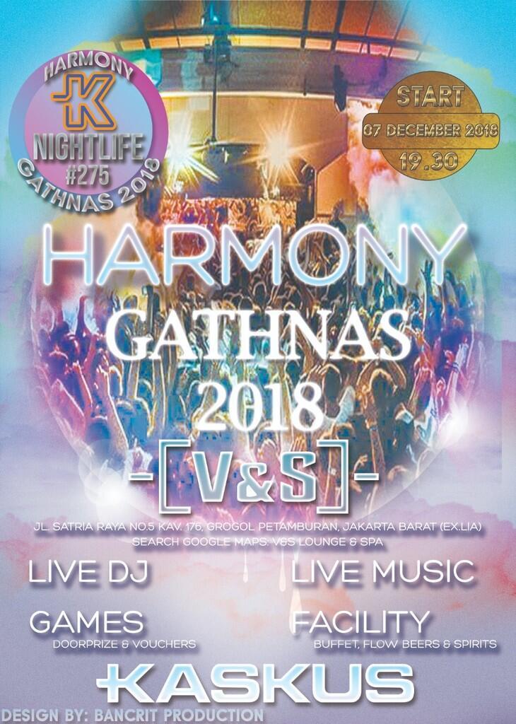 """GATHERING NASIONAL NL #275 """"HARMONY"""" 2018"""