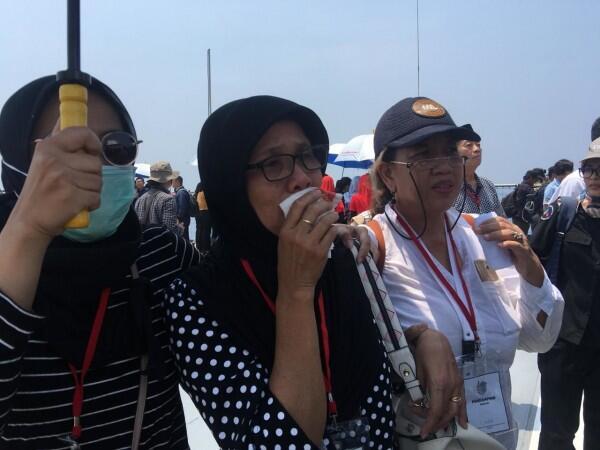 Basarnas Hanya Diam Saat Keluarga Korban Lion Air JT 610 Tanyakan Ini