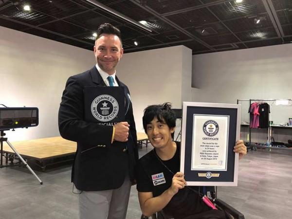 Pria Asal Jepang Lakukan Skipping 24 jam Demi Pecahkan Rekor Dunia