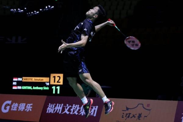 3 Pemain Indonesia Hadapi Andalan Tuan Rumah di Fuzhou China Open 2018