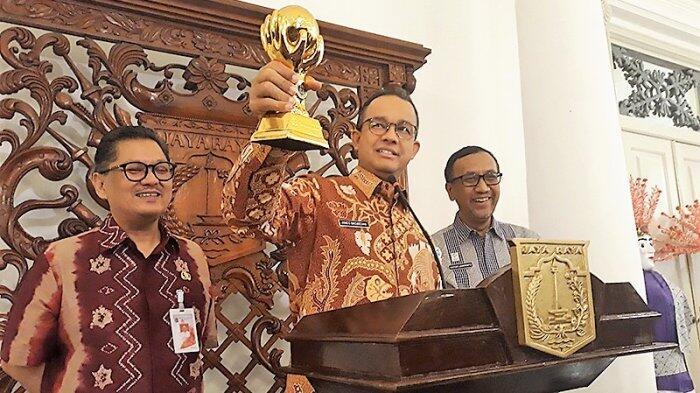 Raih Penghargaan Perencanaan Pembangunan Terbaik, Anies: Janji Sudah Di