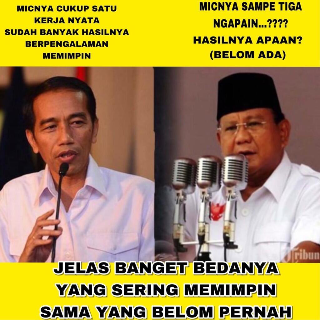 Perbandingan Prabowo dan Jokowi, Dimulai dari Kesaksian Yusril Ihza Mahendra