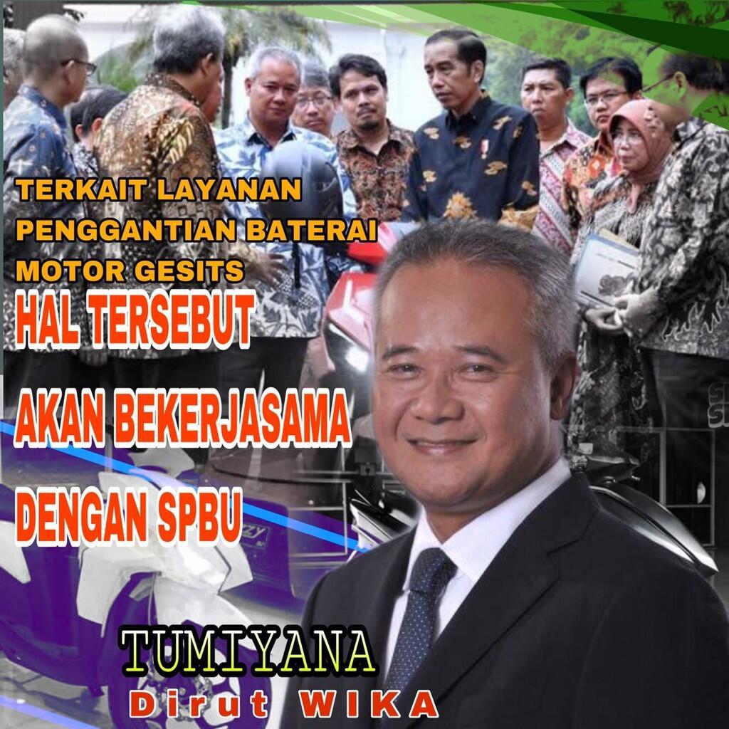 Motor Listrik, Wujud Implementasi Komitmen Jokowi Terhadap Energi Baru dan Terbarukan