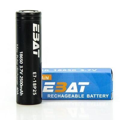Ebat 18650 2500mah 40A baterai dijual panas di Indonesia