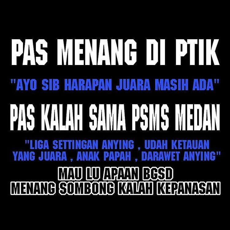 "Tau Persib Kalah Dari PSMS Medan, Jakmania Justru ""Tulis"" Beginian ?"