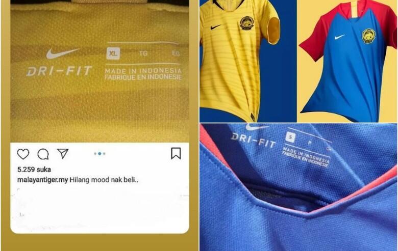 """NGAKAK! Jersey Resmi Timnasnya """"MADE IN INDONESIA"""",Fans Malaysia NGAMBEK!"""