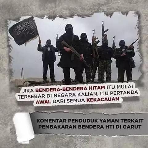 PBNU Menolak Klaim Sepihak Soal Bendera HTI yang Dilakukan oleh FPI