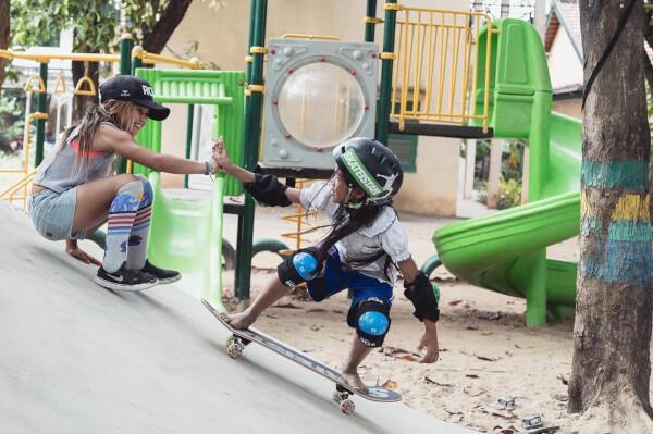 Sky Brown, Pro Skater Plus Filantropi Usia 10 Tahun