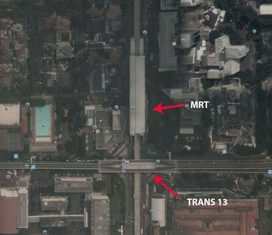 Anies Kritik Koridor 13 TransJ yang Tak Terintegrasi Stasiun MRT