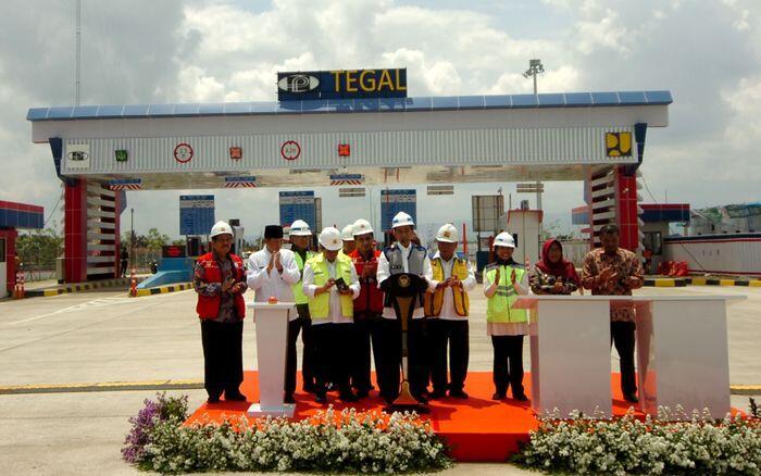 Tol Pejagan-Pemalang beroperasi, Trans Jawa nyaris usai