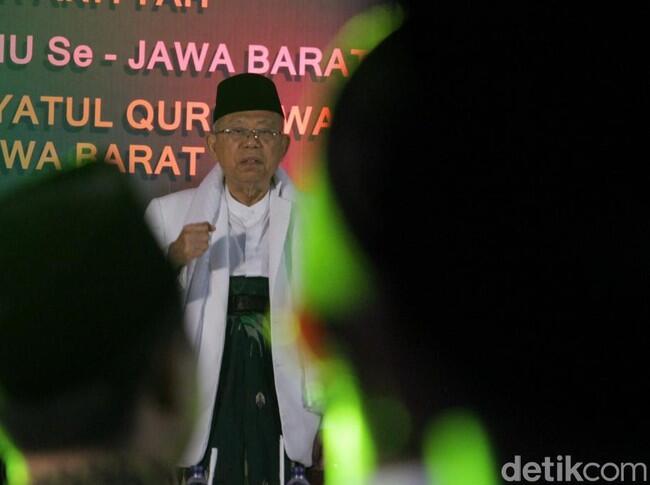 Ma'ruf: Orang Sehat Bisa Lihat Prestasi Jokowi, Kecuali 'Budek-Buta'