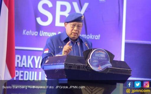 SBY Akui Pemilu 2019 Berat Bagi Partai Demokrat