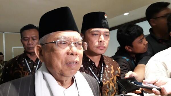 Ma'ruf Amin Optimistis Rebut Suara Warga Jakarta