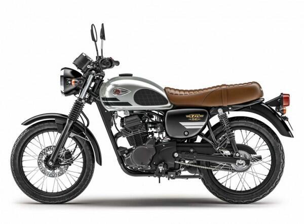 Kawasaki Tambah Warna W175, Birunya Bikin Syahdu