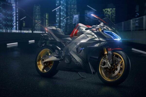 Kymco Pamerkan Superbike Listrik, Mampu Melaju Hingga 250 KM/Jam