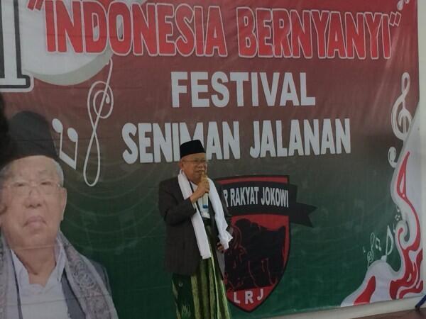 Jokowi Sebut Ada 'Politik Genderuwo', Begini Penjelasan Ma'ruf Amin