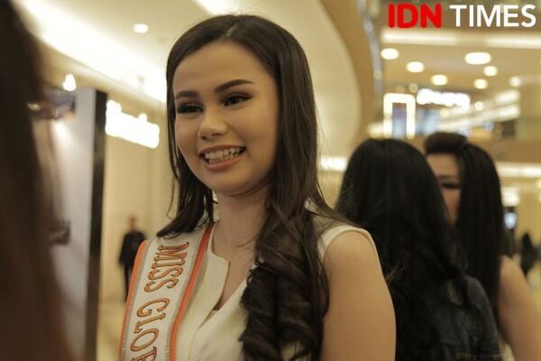 Gaya Fabiënne Nicole G, Miss Global Indonesia 2018 yang Memesona