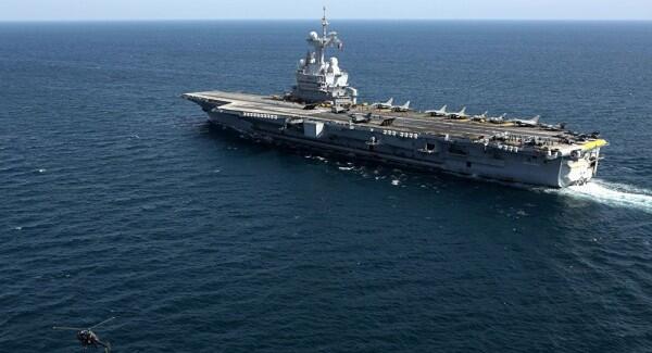 Usai Diperbarui, Kapal Induk Prancis Kembali Berlayar