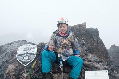 Matthew Tandioputra, Bocah Penakluk 7 Puncak Tertinggi Indonesia