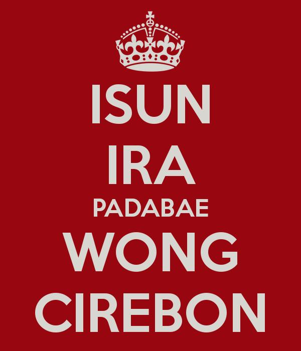 Agan tau cirebon ?...itu termasuk suku sunda atau suku jawa kah.