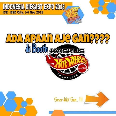 [FR] Kaskus .:: Hot Wheels Lovers ::. Goes to Indonesia Diecaster Expo 2018