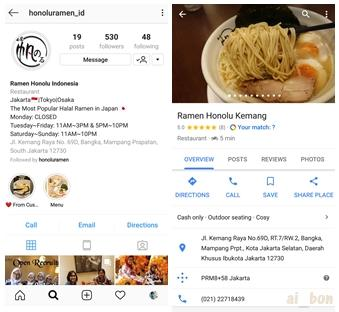 Ramen Honolu (麺屋帆のる) - Ramen Otentik Halal, Cabang Jakarta - Indonesia