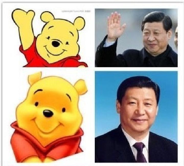 Meme Winnie The Pooh Warnai Kunjungan Presiden Xi Jinping ke Filipina
