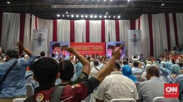 Prabowo Sebut Didukung Relawan Bertampang 'Ekonomi Terbatas'