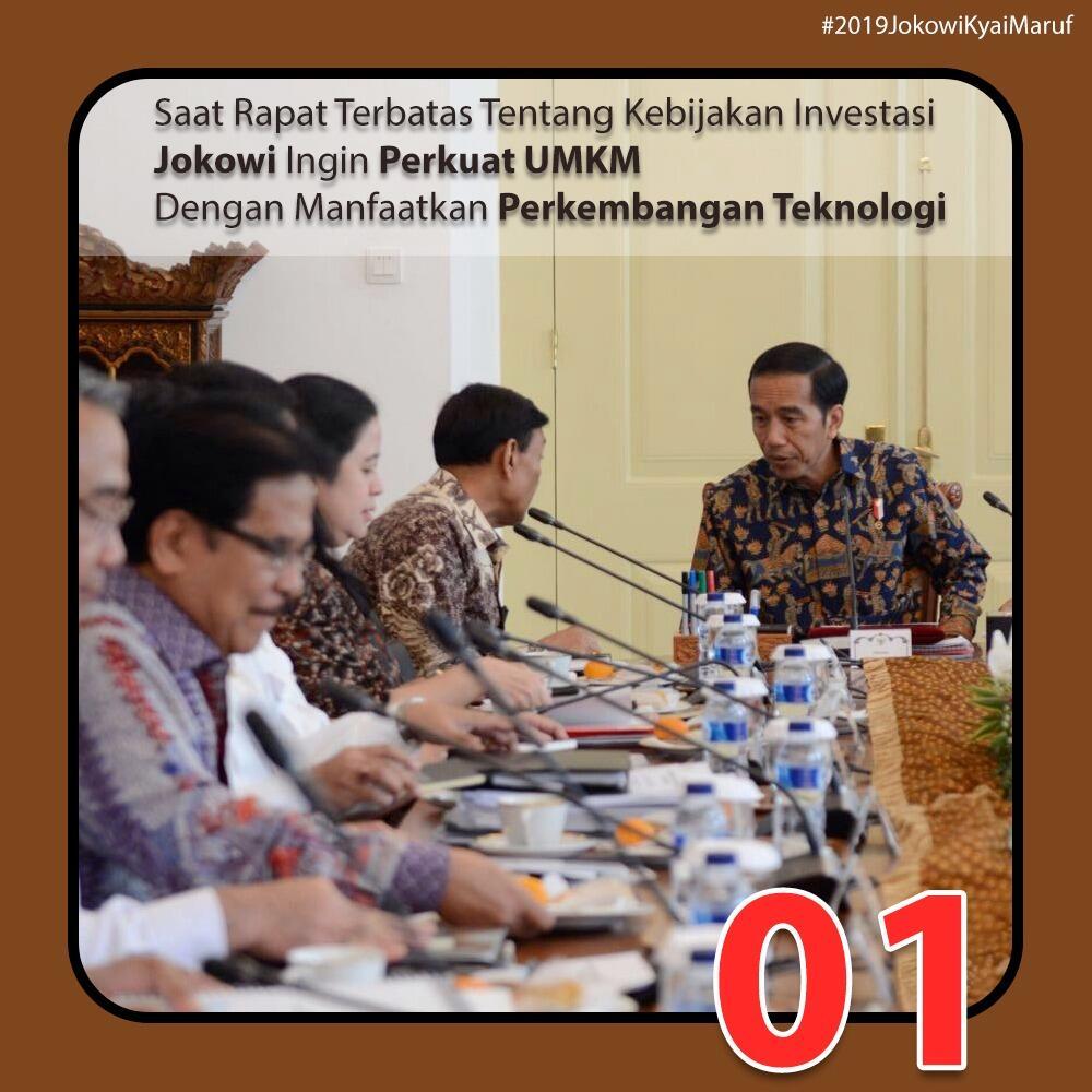 Presiden Jokowi: Investasi dengan Insentif Harus Perkuat Industri dan Ekonomi
