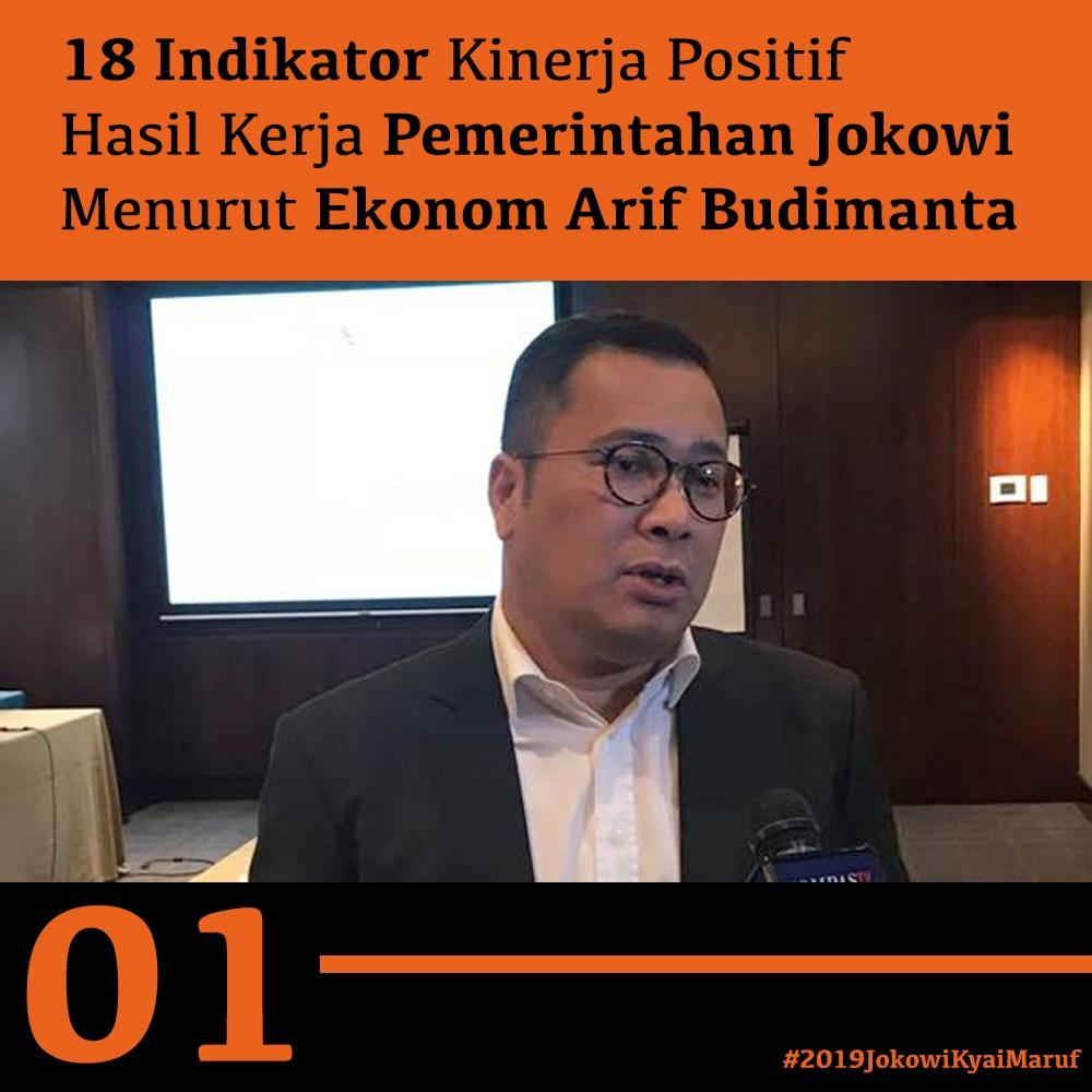 Arif Budimanta Ungkap 18 Keberhasilan Jokowi