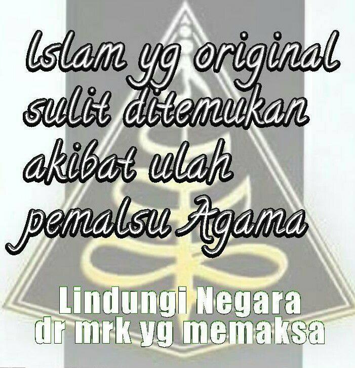 AGAMA dan NEGARA (ISLAM dan NKRI) adalah dua sosok yg sangat berbeda, berbeda banget.