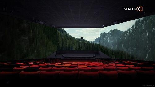 Tenggelam dalam Screen X