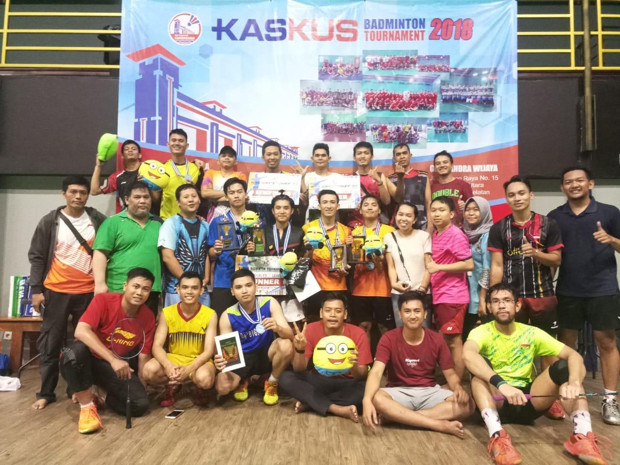 (FR) Field Report Kaskus Badminton Community TURNAMENT 2018 (Present KBC Tangerang)